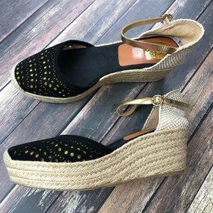 Spain Kanna Espadrille Wedges Sandals 41
